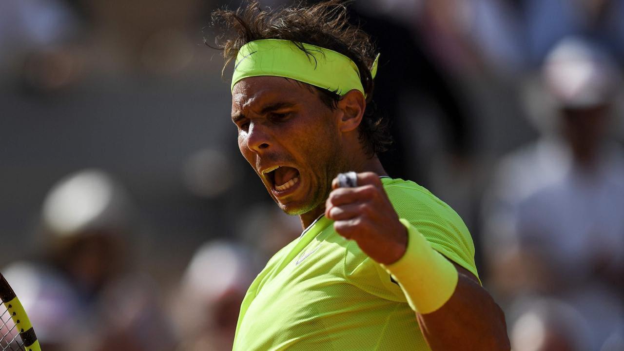 Rafael Nadal I M Satisfied Tennis Shot