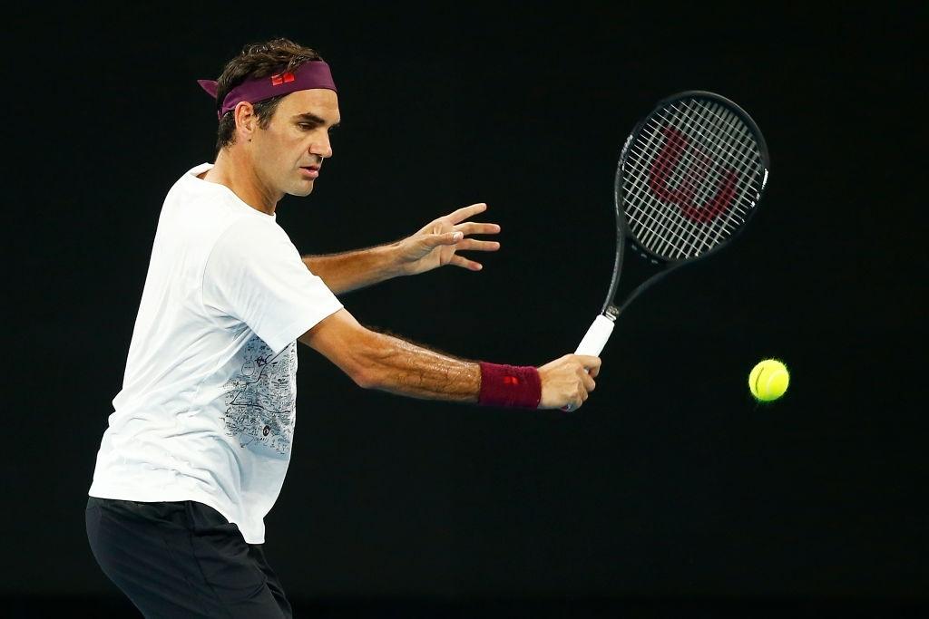 Roger Federer Australian Open 2020 Draw Tennis Shot